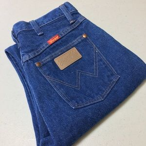 Wrangler Jeans Mom Wedgie 11 x 32 High Waisted